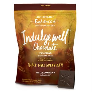 Picture of Indulge Well 28ct Chocolate Squares